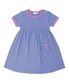 Look what I found on #zulily! JoJo Maman Bébé Cornflower Stripe Summer Dress - Infant, Toddler & Girls by JoJo Maman Bébé #zulilyfinds