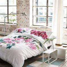 Shanghai Garden Peony Bed Linen | Designers Guild