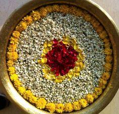 Floating Flower Decorations – Rangoli Designs