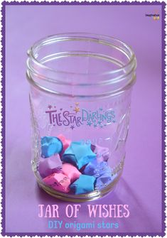 write your wishes and turn them into stars!! DIY Origami Stars #stardarlings #ad