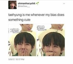 When your bias is Taehyung tho ❤️