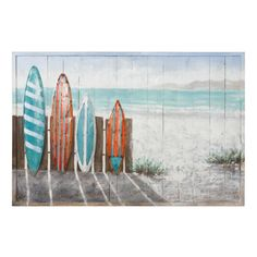 Varaluz Surfer's Paradise Mixed Media Wall Art at Lowe's. Varaluz Casa is the master of the unexpected when it comes to mixed media wall art. Using unexpected and sometimes recycled materials, these pieces are Fence Art, Media Wall, Thing 1, Painting On Wood, Fence Painting, Three Dimensional, Nature Photography, Things To Come, Wall Art