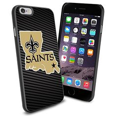 American Football NFL NEW ORLEANS SAINTS Logo, Cool iPhone 6 Smartphone Case Cover Collector iphone TPU Rubber Case Black Phoneaholic http://www.amazon.com/dp/B00V2S78BS/ref=cm_sw_r_pi_dp_0Ahmvb05RY6BB