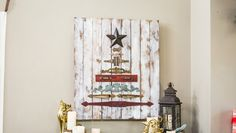 DIY Vintage Hardware Christmas Tree