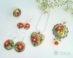 Filigrina's hand sculpted jewelry