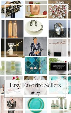 Etsy Favorite Sellers For Home Decor and Accessories (#17)