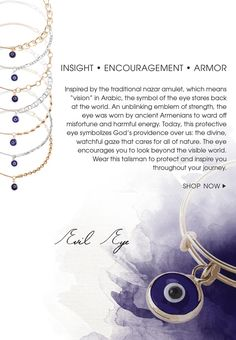 Evil Eye bracelets in the new Providence Collection... Completely obsessed with these
