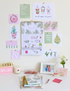 Free Printables & Downloads – bloom daily planners Valentines Wallpaper Iphone, Wall Planner, College Essentials, Framed Quotes, Art For Art Sake, Diy Room Decor, Room Decorations, Frames On Wall, Free Printables