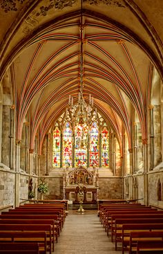 Chichester Cathedral - Lady Chapel by Hexagoneye Photography, via Flickr