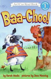 Baa-Choo! by Sarah Weeks book jacket