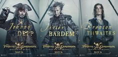See Jack Sparrow, Villain Salazar and Henry Turner in 'Pirates of the Caribbean New Posters New Movies, Movies Online, Pirate Movies, Pirate Life, Jack Sparrow, New Poster, Dead Man, Pirates Of The Caribbean, Movie Posters