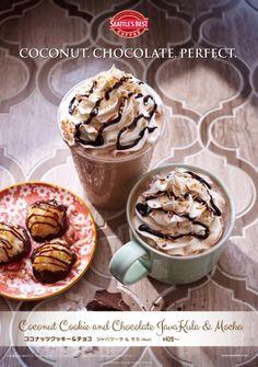 シアトルズベストコーヒーココナッツクッキーをイメージしたデザート感覚ドリンクを期間限定発売
