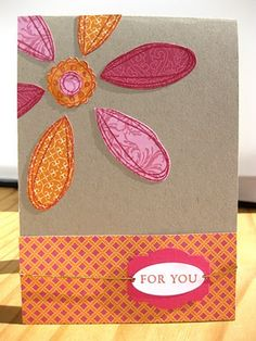 Stampin Up Demonstrator UK: Pick a Petal