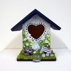 Summer Cottage Mini Birdhouse