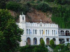 Aegion, Greece - Church of Panagia Tripiti Church Building, Diy Home Decor, Greece, Adventure, Mansions, House Styles, World, Places, Travel