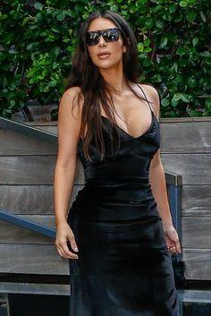 Kim Kardashian em Nova York, nos Estados Unidos (Foto: AKM-GSI/ Agência)