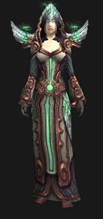 Regalia of Ternion Glory (Recolor) - Transmog Set - World of Warcraft