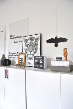 Cabinets to put in Living Room to Store Sam's toys.  This keeps them organized and keeps the living room looking like...well a cleaner lliving room. :) Previous pinner wrote: emmas designblogg - design and style from a scandinavian perspective