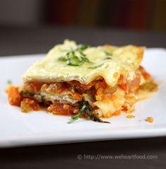 Red Lentil & Vegetable Lasagna