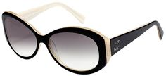 "Tres Noir Optics ""Bombshell"" Sunglasses Large Frame Jackie O"