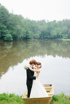 Elegant Lake Wedding Inspiration // Emily March Photography