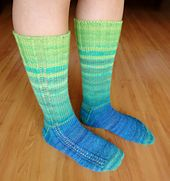 Ravelry: martassm's Misson (Im)possible socks