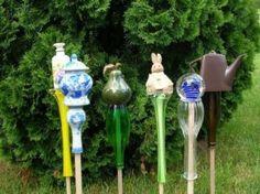 Yard Art, Gardening, Crafts, Upcycling, DIY,