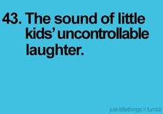 laughter is the best thing ever <3