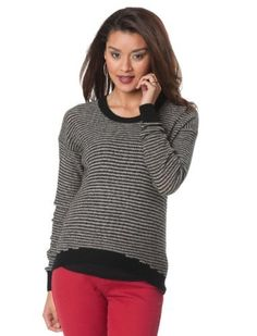 A Pea in the Pod Collection: Enza Costa Long Sleeve High-low Hem Maternity Sweater A Pea in the Pod. $139.99
