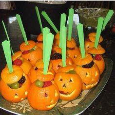 DIY: Healthy Halloween Treats