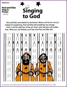 Paul Silas Sing In Prison