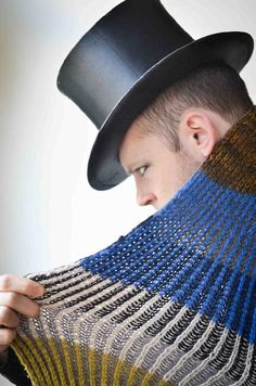 Holiday knitting patterns: Bundled in Brioche by Stephen West, download on LoveKnitting