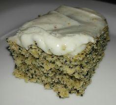 Banana Poppyseed Cake