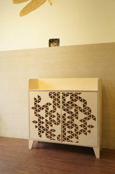 Cabinet - Pattern Door, CNC cut