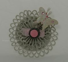 Paper and Fiber Arts: Martha Stewart Double Loops Punch Around the Page Edger Rosette Flower
