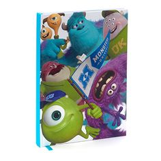 Quaderno A5 Monsters University #squadradimike