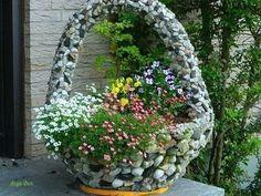 Идеи для декора двора или дачи.