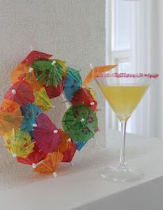 What to do with all those paper umbrellas