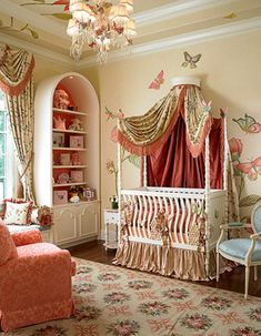 Nursery - Mediterranean home design