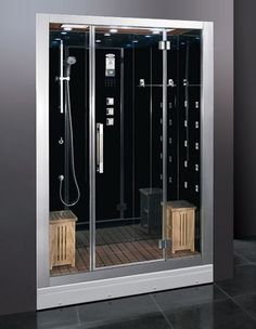 ariel platinum 2 person steam shower id get this in white rather