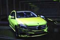 circuitozero Vmap Performance Projection on Mercedes A class_2k13