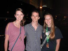 My sister, Mandy, Brian Holden, and I - May 11th