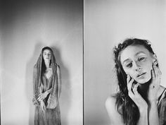 film black and white portret by Anna Gricevskaya Anna, Dreadlocks, Portraits, Black And White, Film, Hair Styles, Beauty, Movie, Hair Plait Styles