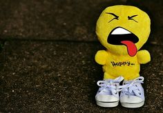 Smiley, Evil, Sneakers, Funny