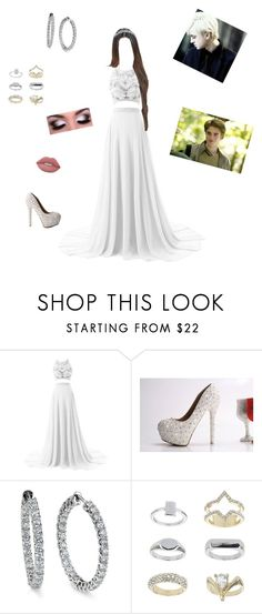 """""""Untitled #636"""" by vgrenalde ❤ liked on Polyvore featuring Blue Nile, Topshop and Lime Crime"""