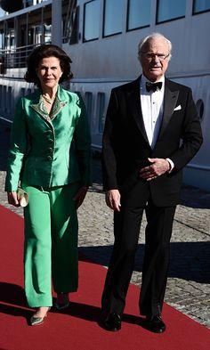 Prince Carl Philip and Sofia Hellqvist start celebrations for their royal wedding