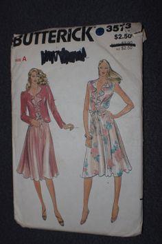 Butterick 3573 Misses Jacket & Dress Pattern by MercedessTreasures