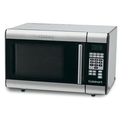 $179 (currently on sale for $149) Cuisinart 1-cu ft 1,000-Watt Countertop Microwave (Stainless Steel)