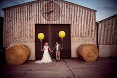 Bright and Beautiful Barn Wedding — And so to Wed