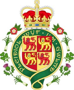 """Coats of Arms of Wales - Reino Unido. Se ubica al oeste de la isla de Gran Bretaña y tiene una población total de 3,1 millones de personas. La capital y ciudad más grande es Cardiff (320.000 habitantes). Los ciudadanos de Gales eligen representantes a la Asamblea Nacional Galesa, la cual atiende asuntos internos, y al parlamento británico en Londres. El nombre de Gales procede del anglosajón Wallas, que quiere decir """"romanizado""""."""